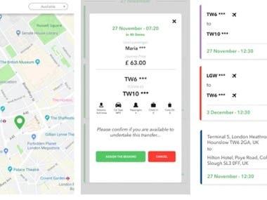 Twelve Driver - Taxi Transfer London