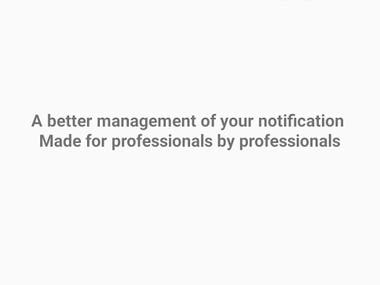 Notification App