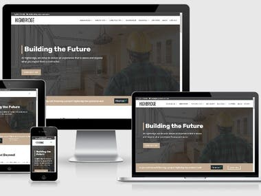New WordPress site development