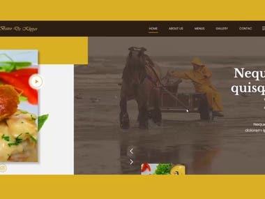 Bistro de Klipper / Restaurant website
