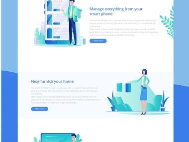 Find Home Website Design