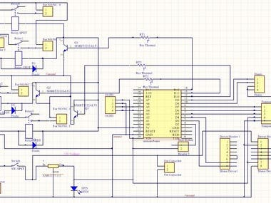 Firmware,PCB for Plastic Melting Project using Arduino Nano