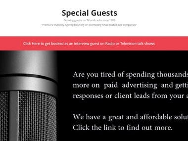 Special Guests WordPress