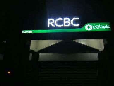 RCBC Signage