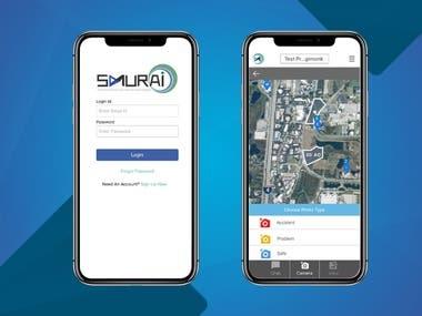 SAMURAI iOS APP-Link in Description