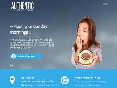 Authentic Website