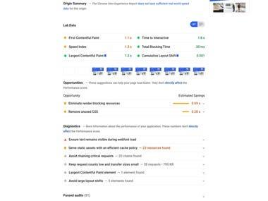 RockViju.com - Website Speed Optimization Google Page Speed