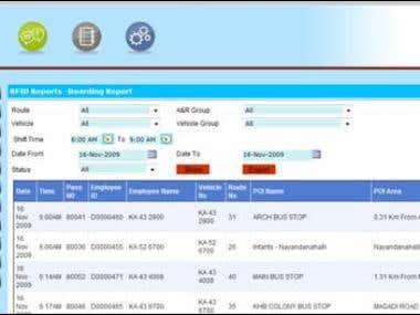 ASP.NET, C# and SQL SERVER - Transport Management System