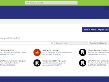 SPFx : Product Search in SharePoint