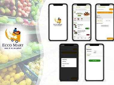 Ecco Mart - Grocery Android Ecomm
