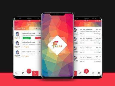 Fazza - Service Provider App