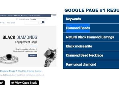 Google Top First Page Ranking - gemonediamond.com