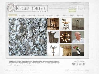 ShopKellyDrive.com - Website Development (PHP, MySQL, JS)