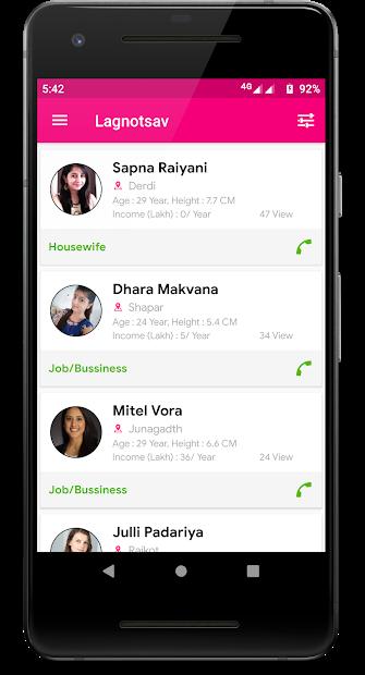 Lagnotsav - Matrimony Android app