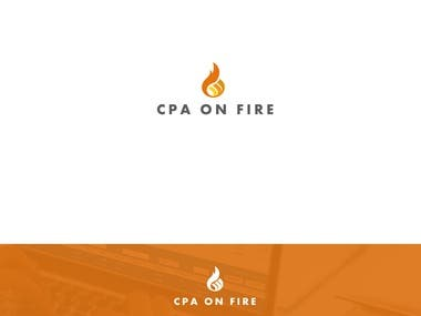 Logo Design for CPA on Fire