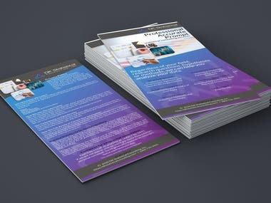 Rack Cards Design