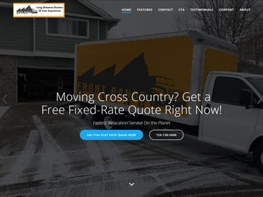 Moving Company Site