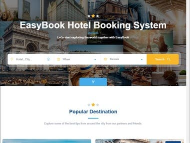 Booking Site