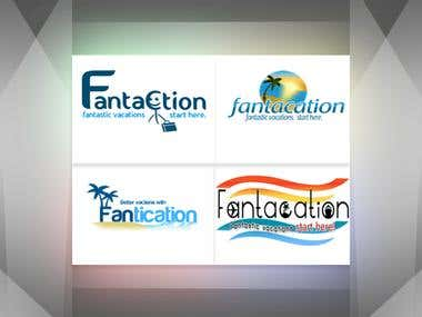 Fantacation Logos.