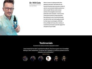 Shopify Ecommerce web site