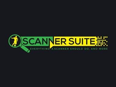 Football soccer stats finder logo design