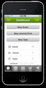 Diary Mobile app