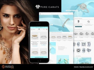 E-Commerce Site for Jewelry