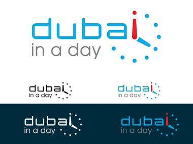 Logo Design for Dubai In a Day