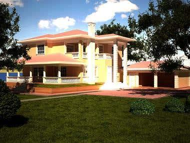 2 store Villa in Lezha - Albania