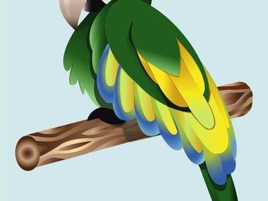 Vectorized parrot