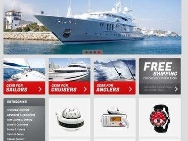 E-Commerce of Marine Equipment
