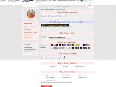 Customized E-commerce solution (PrestaShop)