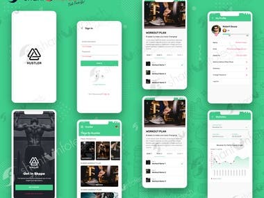 Hustler: Home Workout & Fitness App