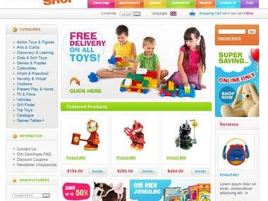 Online Toy Shop
