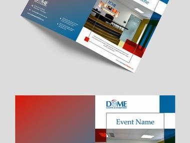 Bi-Fold Brochure of Furniture Company
