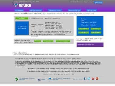 Billing website