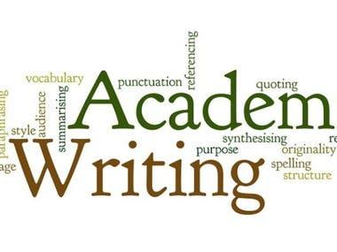 Academic Writing, Academic Research
