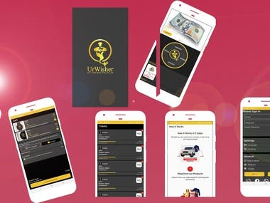 UrWisher (E-commerce Application)