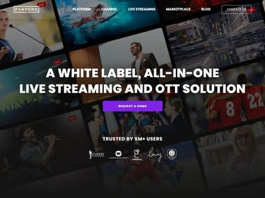 A White Label Live streaming and OTT Solution | FanHero