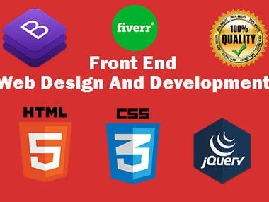 I will be your Best Front End Webdeveloper