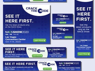 Google display ad for NACSSHOW