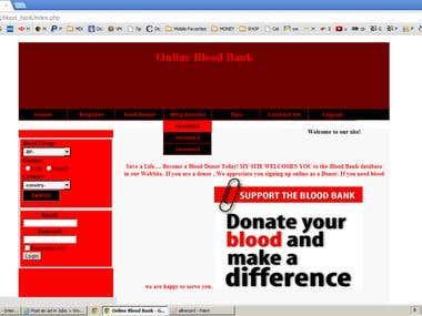 Blood Bank System