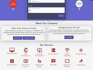 #Avengingsecurity.com #Website Design & Development