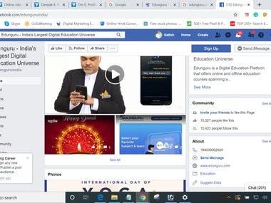 #Edunguru.com #Social Media, App Promotion