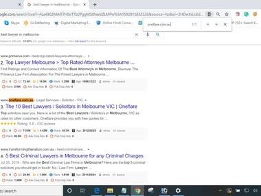 #oneflare.com.au #Google 1st Page Ranking #Melbourne, AU