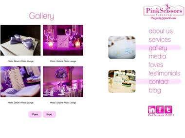 Pink Scissors planning