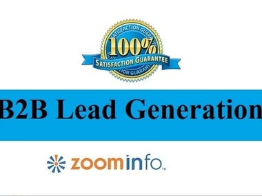 Zoominfo lead collection to collect your targeted lead