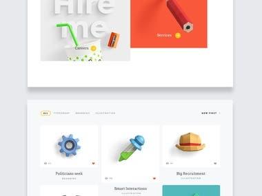 UI/UX Design - Website Design