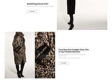 Women Clothes Selling WebSite