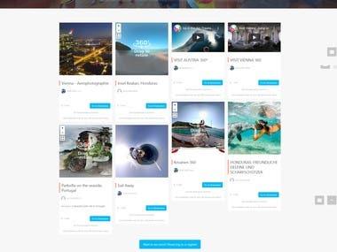 Virtual Tour Web Site